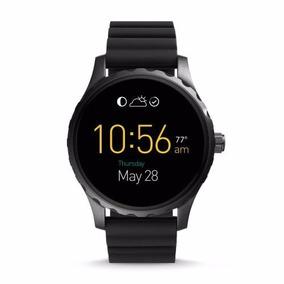 Reloj Fossil Smartwatch Original Q Marshall Ftw2107 Negro