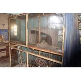 Mostrador De Hierro Y Vidrio,vitrina,exibidor, 2mts.rebarato