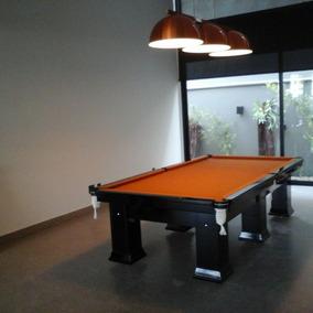 Mesa Bilhar / Sinuca Snooker Profissional Cores Personalizad