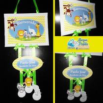 Cartel Letrero Bienvenida Clinicas Nacimiento Baby Shower