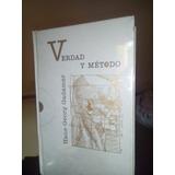Verdad Y Método (i-ii) - Georg Gadamer