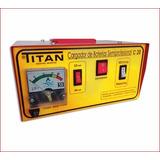 Cargador De Baterias Titan C-20 12-24 Volts Zona Oeste