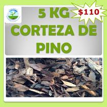 5kg Corteza De Pino Sustrato Decoración Jardín