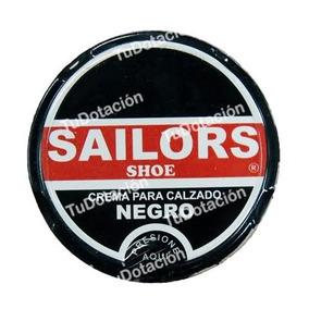 Betún Crema Para Zapatos Sailors 30 Gr Negro Marron Neutro