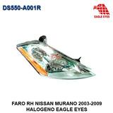 Faro Derecho Nissan Murano 2003-2009 Halogeno