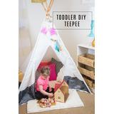 Teepee Casita Para Niños Tienda De Campaña Tipi Infantil