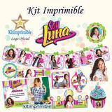 Kit Imprimible Soy Luna Candy Bar Fiesta Completa Editable