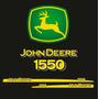 Calcos Bandas John Deere 1550