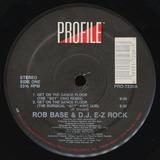 Rob Base And Dj Ez Rock Get On Dance Floor 12 Single Import