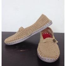 Elegante Zapato Tejido Dama Talla 37