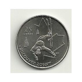 Canada Sky Estilo Libre Olimpiadas Vancouver (2008) 25 Cents