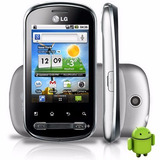 Lg Optimus P350 Android 3g Wi-fi, Gps, Touch, Nf+cartão 8gb