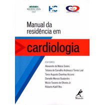 Manual Da Residência Em Cardiologia - (disponível) - Manole