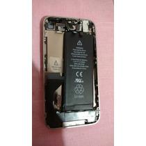 Iphone 4g Blanco Sin Tapa Y Sin Tarjeta Logica
