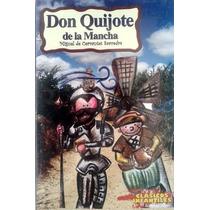 Libro Don Quijote De La Mancha Cervantes Clásico Infantil