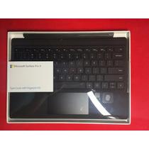 Teclado Type Microsoft Surface Pro 4 Con Id Huella Digital
