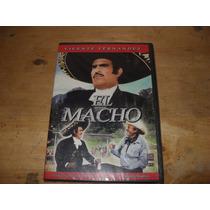 El Macho Vicente Fernandez Y Piporro Dvd Nuevo Sellado