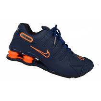 Tenis Nike Shox Nz Masculino Em Couro Na Caixa