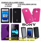 Funda Sony Xperia Ericsson X8 X10 U Live Walkman Protector