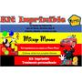 Kit Imprimible Mickey Mouse,tarjeta, Invitaciones,diseño