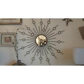 espejo sol en hierro cm de dimetro diseo