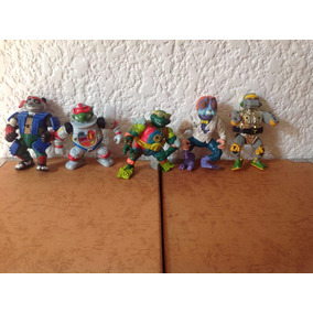 Tortugas Ninjas Figuras Vintage Paquete