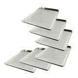 Rap20 Bak Paquete 6 Charolas Perforada Aluminio Pan 45x65