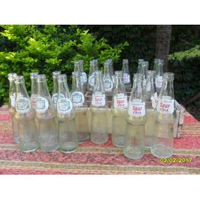 Lote De 4 Botellas Gaseosas, 2 Canada Dry Y 2 De Spur Cola