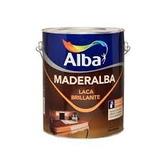 Maderalba Laca Brillante Para Madera X 4 Lts. Transparente