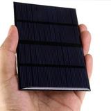 Painel Solar 12v Luz Emergencia Baterias + Brinde