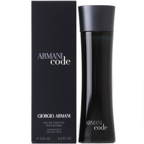 Perfume Armani Code Caballero 125ml