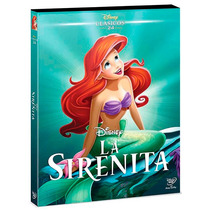 La Sirenita Edicion Diamante Clasicos Disney , Pelicula Dvd