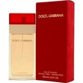Perfume Dolce Gabbana Vermelho 100ml Fem Original Lacrado