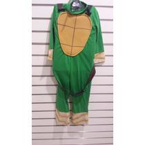 Disfraz De Tortugas Ninjas Nuevo Original Carnavalito