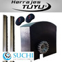 Kit Automatizacion Suchi Porton Corredizo Recto 3 Metros