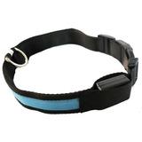 Collar Para Perro Con Luz Led Cuello De 35-43 Cm
