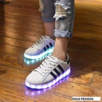 Zapatos Led | Tenis Led /usb/ Entrega Inmediata Maximo 48hrs