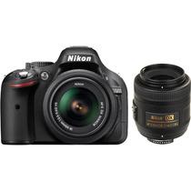 Camera Digital Nikon D5200+lente 18-55mm+32gb+bolsa