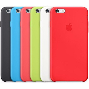 Capa Silicone Apple Iphone 5 X Se 6 6s 7 8 Plus + Pelicula