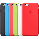 Capa Silicone Apple Iphone 5 5s Se 6 6s 7 7 Plus + Pelicula