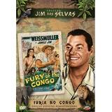 Jim Das Selvas - Fúria No Congo - Dvd - Johnny Weissmuller
