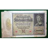 10000 Mark - Marcos Alemanes - Billete Alemania 1922