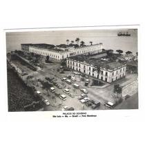 Sl06 Postal Antigo São Luiz Maranhão Palácio Do Governo.