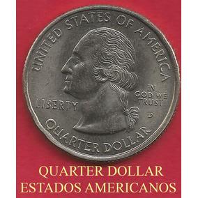 17 Moedas Dos Estados Americanos De Quarter De Dollar