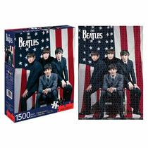 Rompecabezas Aquarius 1500 Piezas Los Beatles Bandera 68001