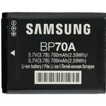 Bateria Bp70a P/ Camera Digital Samsung Dv100 Mv800 Original