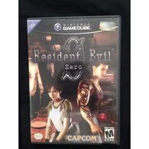 Video Juego Gamecube Resident Evil Zero