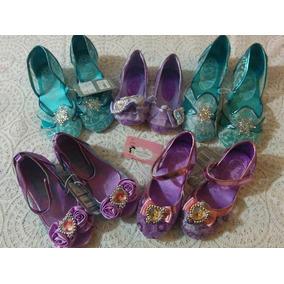 Zapatillas Frozen, Sirenita, Princesa Sofia, Minnie D Disney