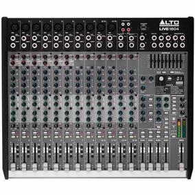 Mesa De Som / Mixer 16 Canais Usb Live1604 - Alto