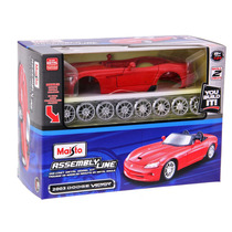 Kit Para Montar Dodge Viper Srt-10 2003 1:24 Maisto Vermelho